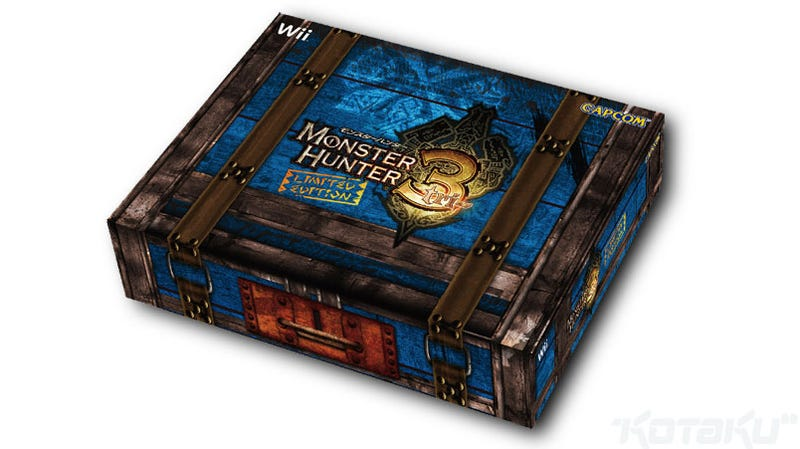 Illustration for article titled Japan Will Surely Enjoy This Limited Edition Monster Hunter Bundle