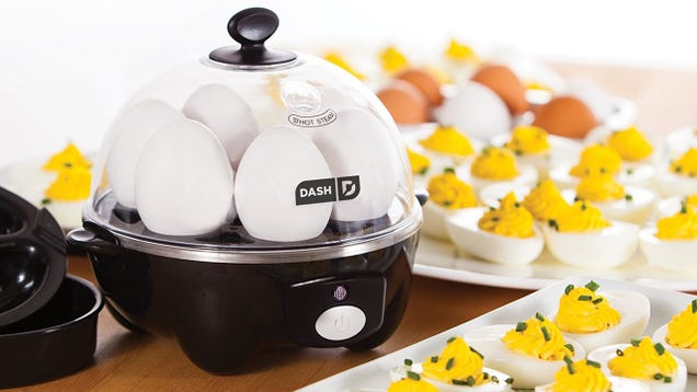 Amazon's Top-Selling Egg Cooker Makes Breakfast at the Touch of a Button - Just $16 Today