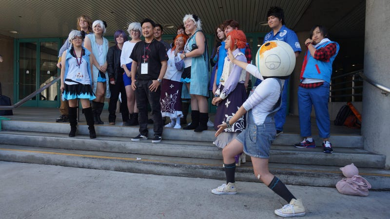 Illustration for article titled The Zero Escape Cosplay Meetup at AX was AMAZING