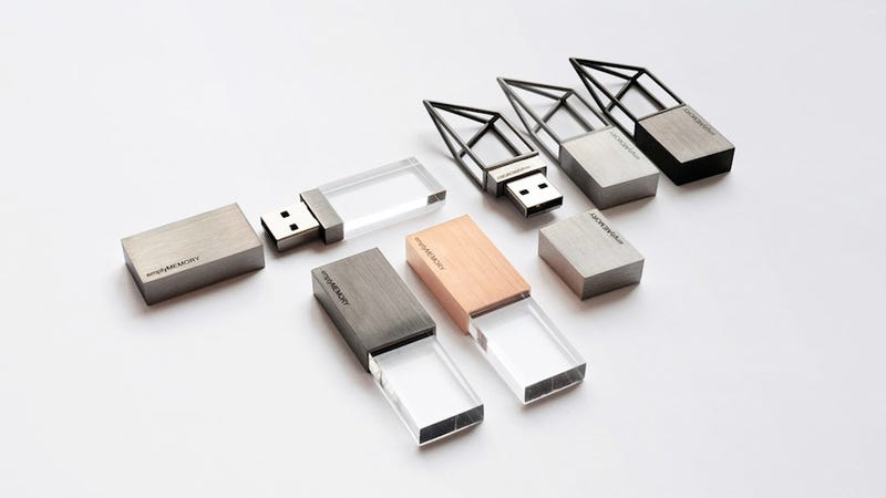 Illustration for article titled How Much Would You Pay for this Asspensive Artsy Fartsy Hollow Looking USB Drive?
