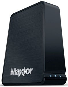 Illustration for article titled Maxtor Central Axis 1TB NAS is Monolithic, Family Friendly