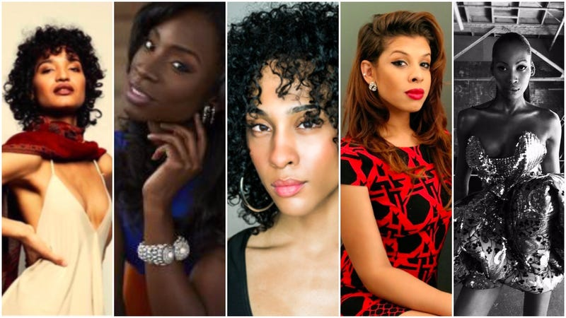 L to R: Indya Moore, Angelica Ross, MJ Rodriguez, Hallie Sahar, Dominique Jackson. (Photos: FX)