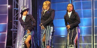 Left Eye, T-Boz and Chilli of TLC (Scott Gries/Getty Images)