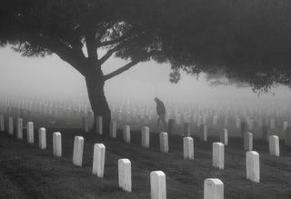Illustration for article titled Graveyard Shift - Scary Graveyard