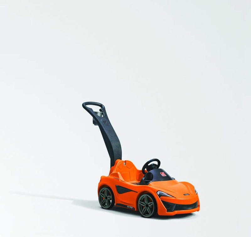 Illustration for article titled McLaren Introduces New Track Orientated Model