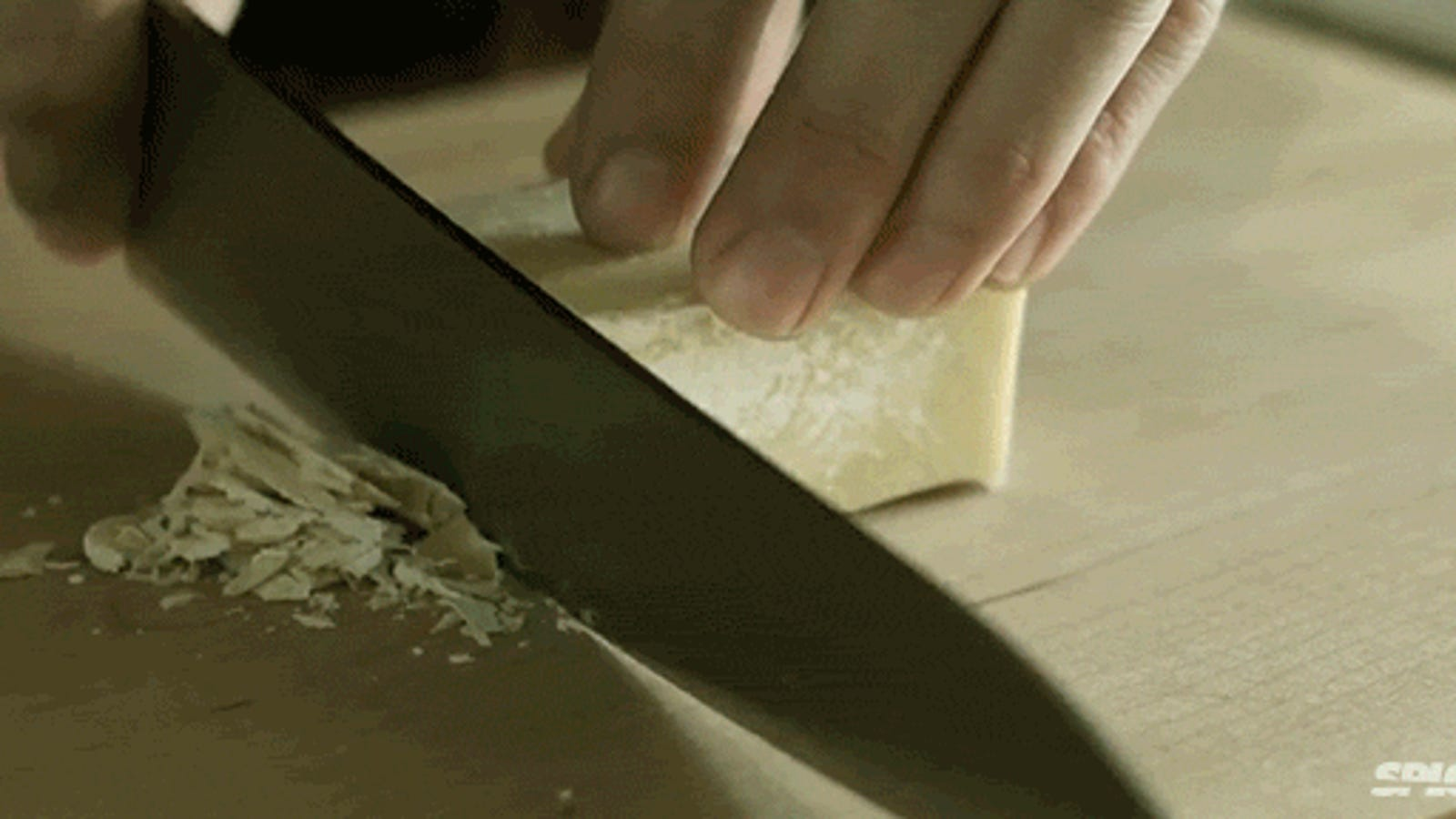 Watching this video of a chef cooking massaged my senses with pleasure