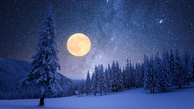 When to See February s  Snow Moon