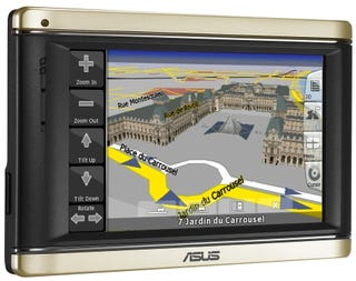 Illustration for article titled Asus R700 3D GPS Navigator and Portable Media Player Mutant