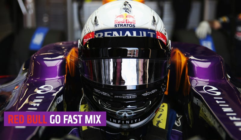 Sebastian Vettel's DJ Made A Go-Fast Mix Just For You