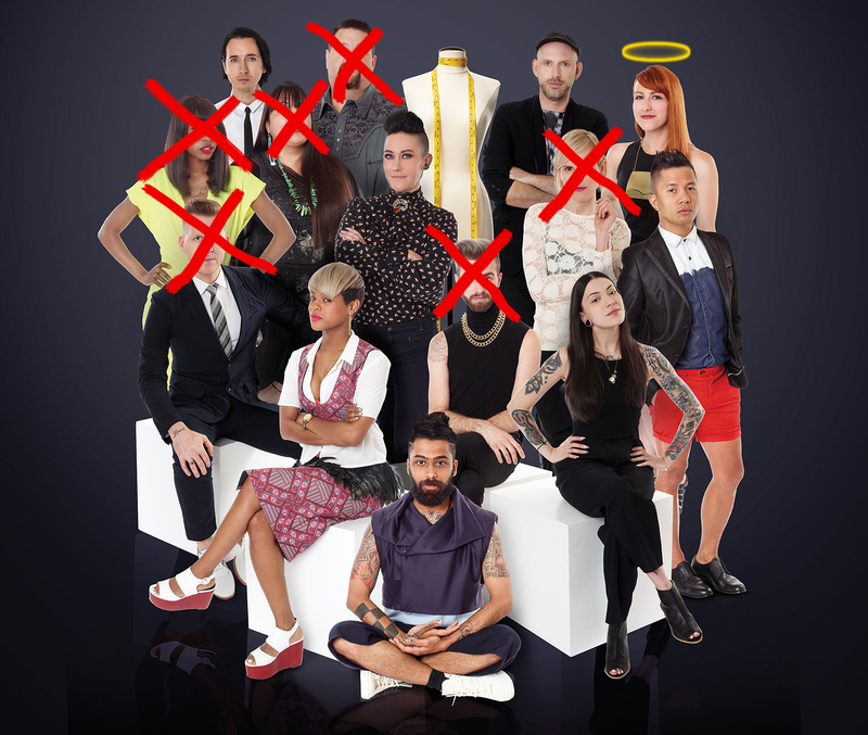 Illustration for article titled Project Runway : All Stars Season IV, Episode 9 Recap