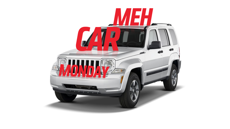 Illustration for article titled Meh Car Monday: The Jeep Liberty, Because Even An Icon Can Make Meh