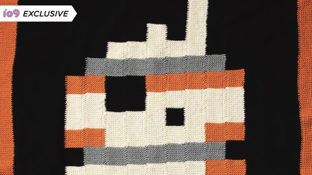 The Map to a Perfect Star Wars Blanket Is Hidden Inside This BB-U-Knit