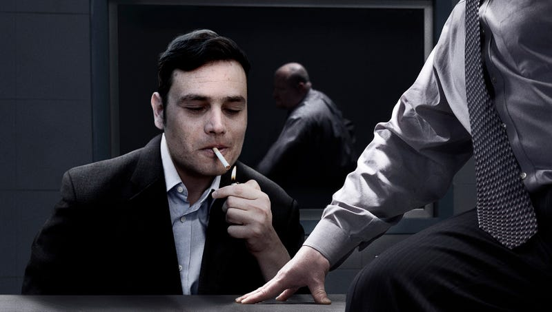 Illustration for article titled Study: 30% Of People Who Quit Smoking Relapse After Shakily Raising Cigarette Up To Lips When Agreeing To Turn State's Evidence