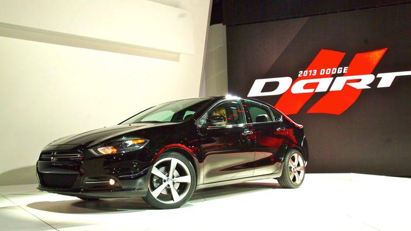 Illustration for article titled 2013 Dodge Dart: 2012 Detroit Auto Show Photos, Info