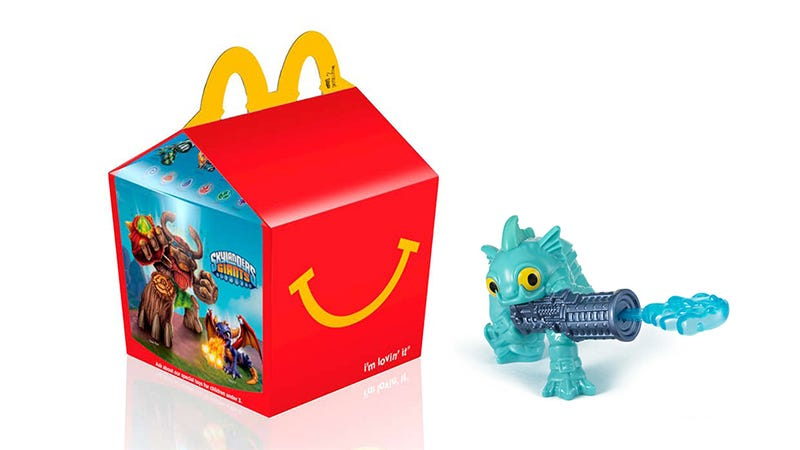 Illustration for article titled Oh Great, Skylanders Happy Meals. Just What I Needed.
