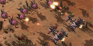 Illustration for article titled Starcraft 2 Screens