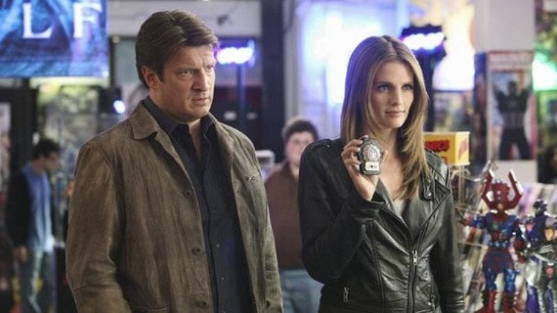 """Castle: """"Heroes And Villains"""""""