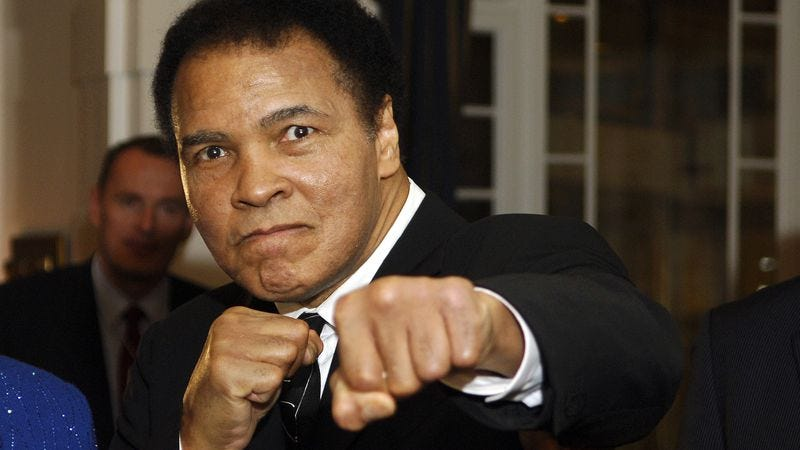 Ali in 2006. (Photo: Getty Images)