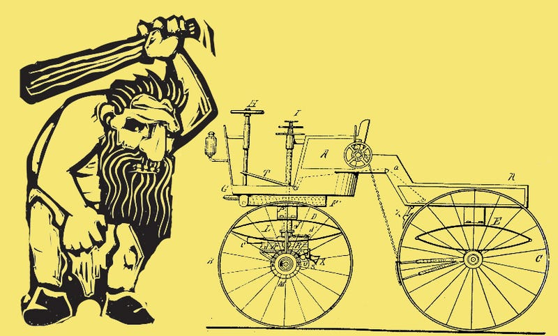 Illustration for article titled 100 Years Ago, This Man Was The Original Patent Troll
