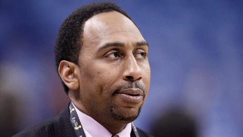 Illustration for article titled Stephen A. Smith Thinking Son Is Finally Ready For The Sex Argument