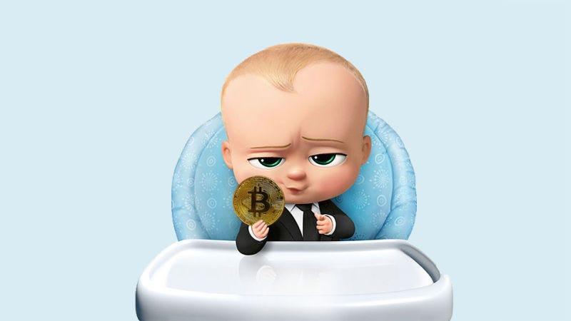 Illustration for article titled Compra un equipo para minar Bitcoins en Amazon con el dinero de sus amigos y recibe un DVD de The Boss Baby