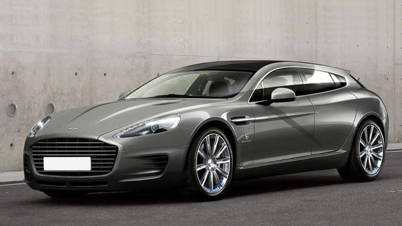Illustration for article titled That Aston Martin Rapide Wagon May Go Into Production