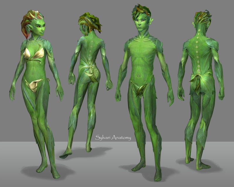 Illustration for article titled How Do You Make a Race of Intelligent Plant People Sexy?
