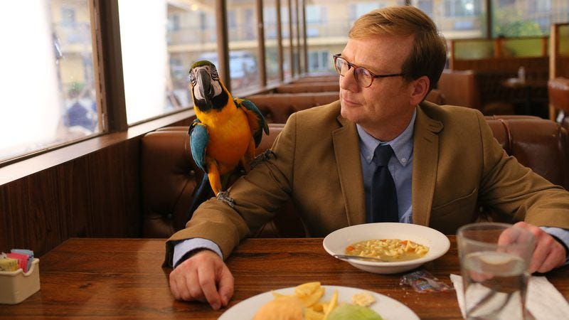 Illustration for article titled Andy Daly will Review anything (as long as it doesn't involve primates)