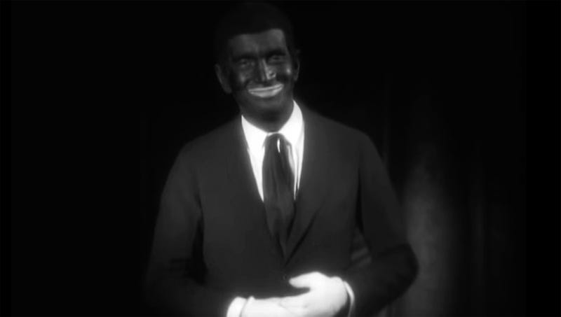 Illustration for article titled Damning Evidence Shows Actor Al Jolson Wearing Blackface