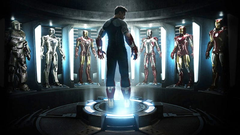 Illustration for article titled Have Tony Stark's many Iron Man 3 suits just been revealed?