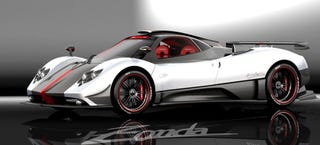 Illustration for article titled Pagani Zonda Cinque, A Street Legal Zonda R, First Picture