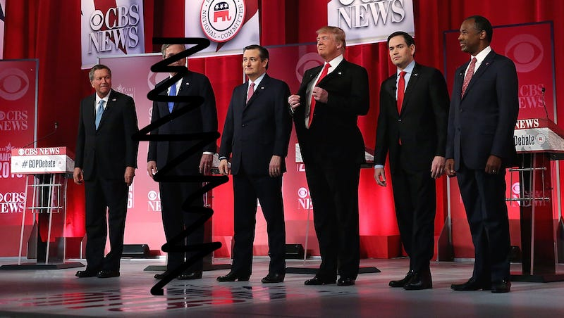 Illustration for article titled And Then There Were 5: It's Your Republican Debate Open Thread