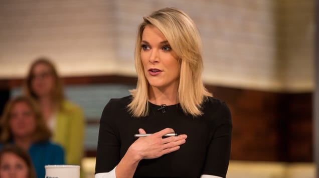 Megyn Kelly learned blackface was bad today, and her own network's news team called her out for it