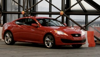 Illustration for article titled 2010 Hyundai Genesis Coupe: A Mustang-Killer Revealed