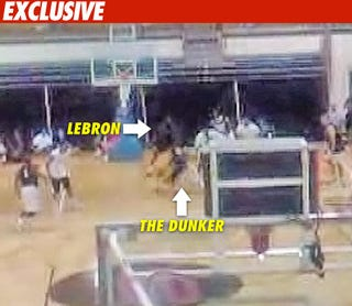Illustration for article titled TMZ Purchases LeBron Dunk Tape Before We Do