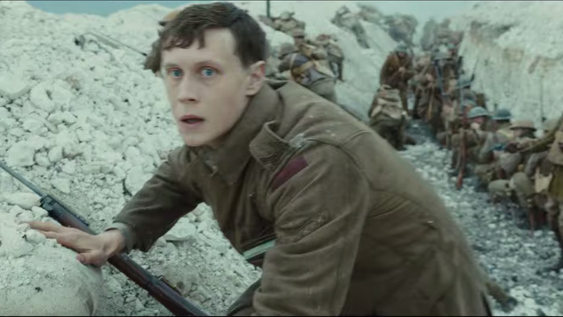 Remember to breathe during this trailer for Sam Mendes' single-take war epic 1917