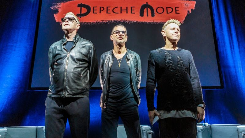 "Illustration for article titled Depeche Mode tells ""lifelong fan"" Richard Spencer to fuck off"