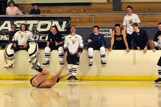 Illustration for article titled New Zealand Hockey Initiation Is, Uh, Special