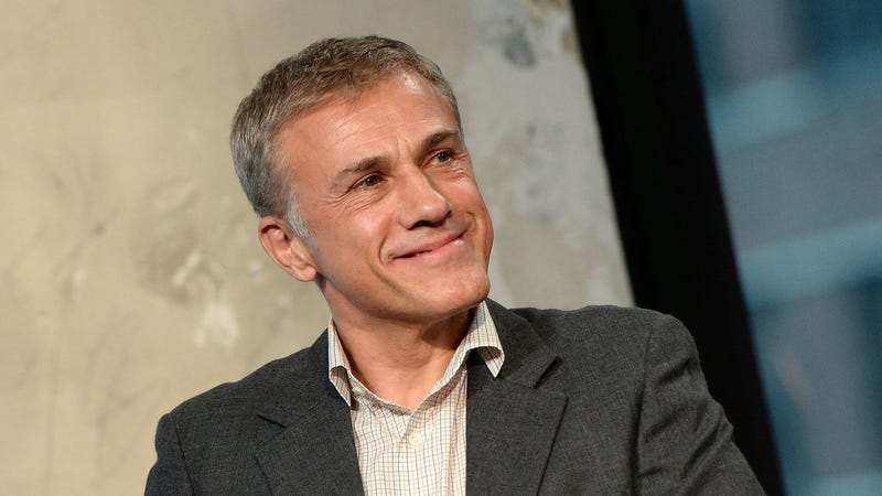 Christoph Waltz to be evil—but, like, in a polite way—again for Bond 25