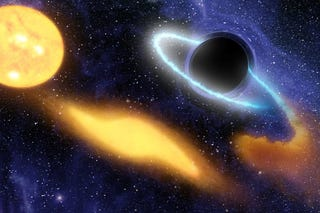 Illustration for article titled The forgotten genius who discovered black holes over 200 years ago