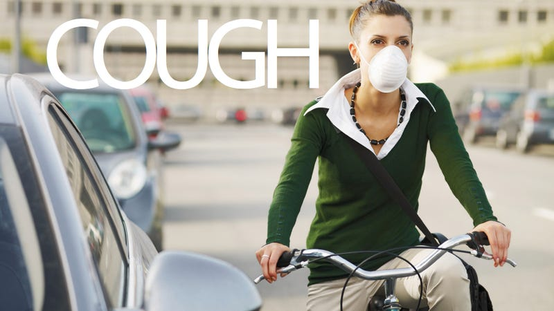 Illustration for article titled Biker's Lung: The Newest Excuse to Avoid Exercise
