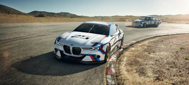 Illustration for article titled Redone BMW 3.0 CSL Hommage Proves Everything Looks Better In Racing Livery