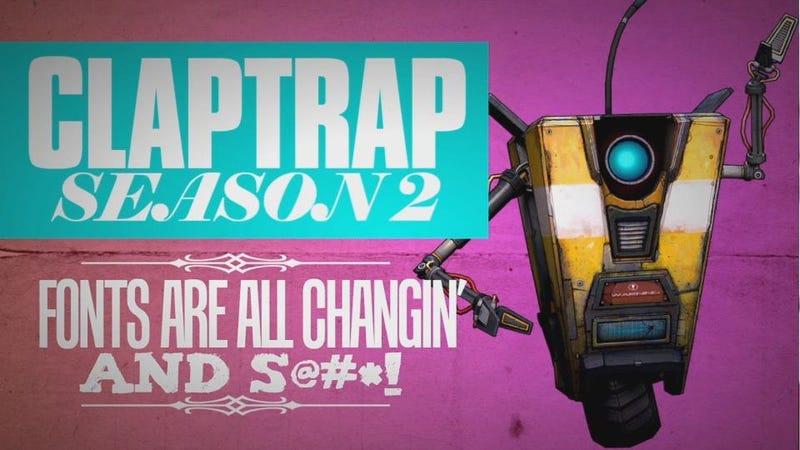 Illustration for article titled Borderlands 2 Developers Bringing Back The Claptrap Webseries