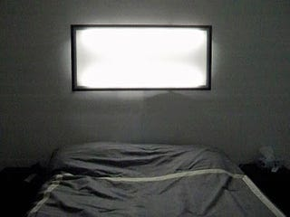 Make a diy frosted wall light from ikea parts with a transparent cabinet door ikeas great dioder led lights and a little ingenuity you can end up with a huge flat wall light on the cheap aloadofball Images