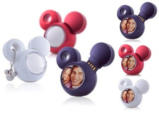 Illustration for article titled Friends, Kids, Geeks, A-Data's Mickey Mouse 2GB Drive Lends You His Ear