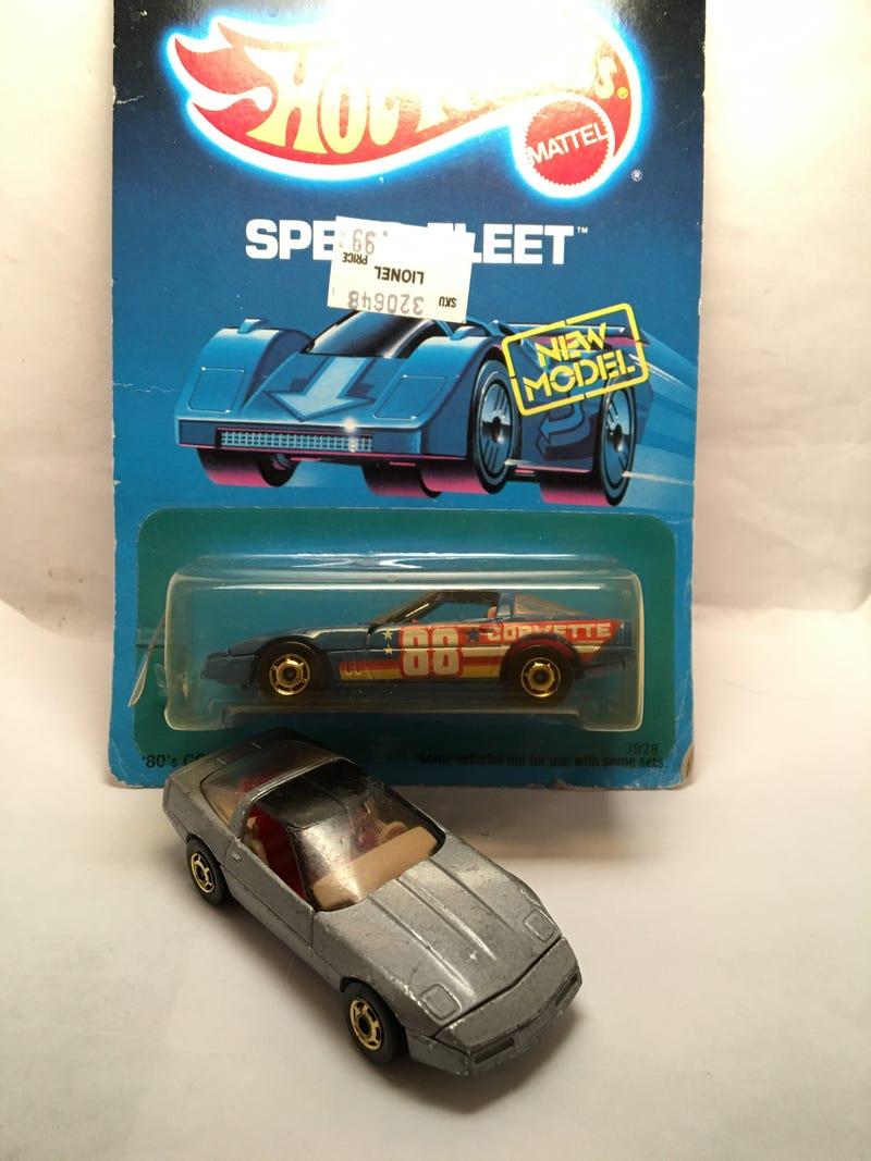 Illustration for article titled Hot Wheels 80's Corvette story