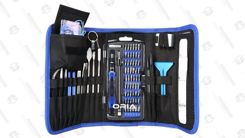 Oria Precision Screwdriver Set 86-in-1   $24   Amazon   Promo code HA21HA21HH