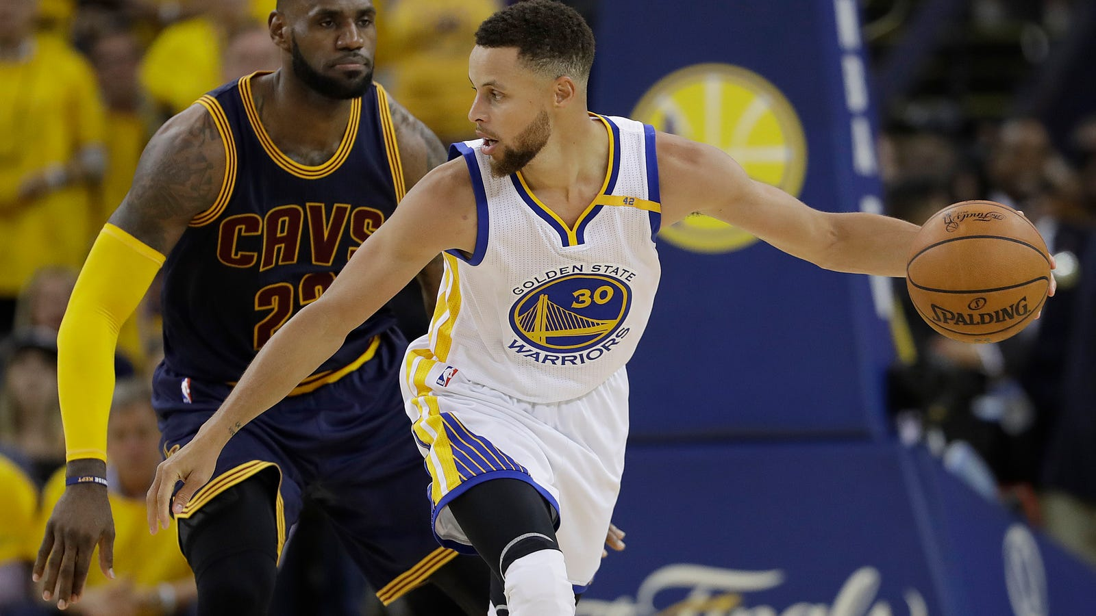 Steph Curry Gave LeBron James The Runaround
