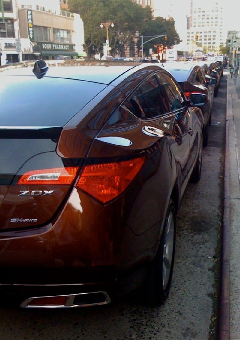 Acura ZDX In The Living Metallic Brown Flesh