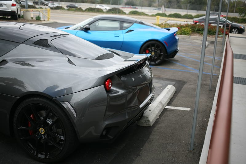Illustration for article titled I drove a preproduction Lotus Evora 400 yesterday
